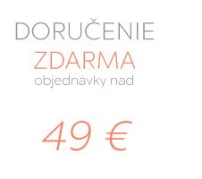 Doručenie zdarma pri objednávke nad 49€