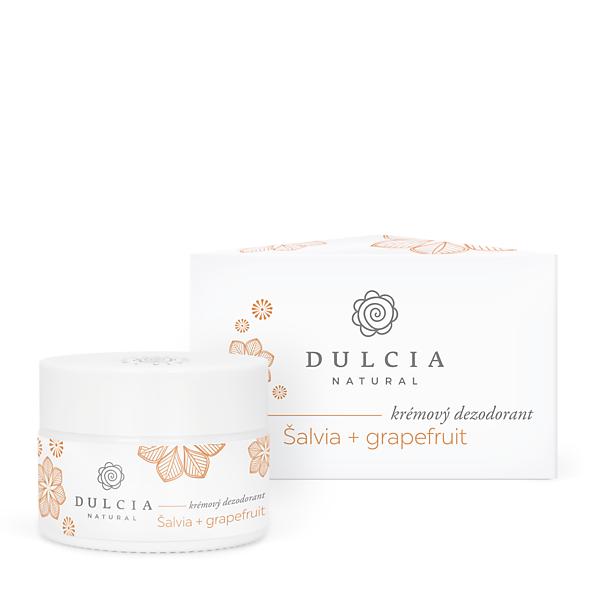Krémový dezodorant šalvia - grapefruit