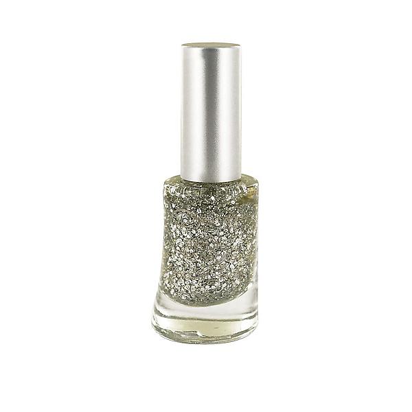 Lak na nechty n°814 Glitter silver
